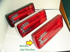 For Mercedes W463 G Class Wagon G500 550 55 LED Tail Rear Lamp Light Red Rim R/S