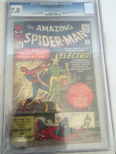 Amazing Spiderman #9 CGC 7.0 Stan Lee Steve Ditko 1st Electro free shipping