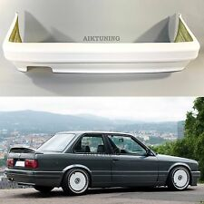 BMW E30 Rear M Tech 2 M Technik Style Bumper Spoiler Full Rear Bumper Valance