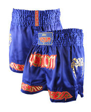 Venum Tribal Muay Thai Shorts. Blue Thailand UFC ONE FC MMA Satin