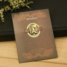 Retro Tower Animal Can Ailei Si Lace Hollow Metal Bookmark