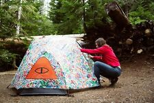NWT $250 Poler Stuff 2 Man Tent Urban Outfitters Rainbro Camping Without Walls