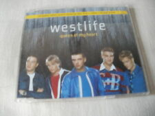 WESTLIFE - QUEEN OF MY HEART - UK CD SINGLE - PART 1