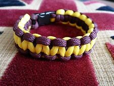 Royal Regiment of Fusiliers RRF Help for Heroes Inspired Paracord 550 Bracelet