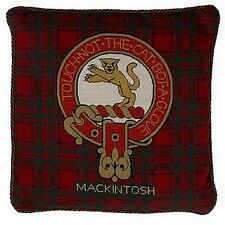 Mackintosh Copricuscino Clan Scozzese NEEDLEPOINT Cuscino ARAZZO Tartan