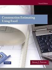 Construction Estimating Using Excel by Steven J. Peterson (2011, Paperback,...