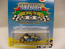 MATTEL HOT WHEELS 2000 ISSUE YAMAHAULER RACING TEAM II GOLDEN GOLD GO-KART CART