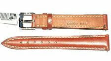 FRANCK MULLER 14 mm cinturino strap 641449 cuoio inglese marrone cucito a mano