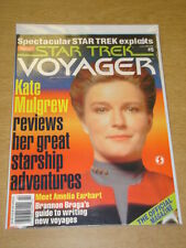 STAR TREK VOYAGER #5 1996 FEB VF STARLOG US MAGAZINE KATE MULGREW AMELIA EARHART