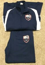 Mens Chicago Fire Soccer Training Camp Sweatpants Warm Ups Suit Pants Jacket M/L