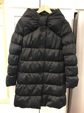 NWT Kate Spade Alice Funnel Neck Puffer Down Black Jacket Coat size XS