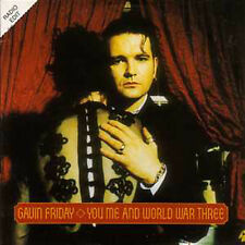 CD Single Gavin Friday You Me & World War Three PROMO