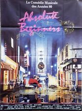 """ABSOLUTE BEGINNERS"" Affiche originale (Julien TEMPLE / David BOWIE, Ray DAVIES)"