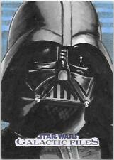 Topps Star Wars Galactic Files Sketch Card -  Darth Vader by Denae Frazier