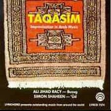 Shaheen, S. And A.J. Racy-Taqasim - The Art Of Improvisation In Arabic MusCD NEW