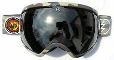 $180 Electric EG2 Winter Ski RARE Snow Camo Goggles Silver Mirror Spy Smith Lens