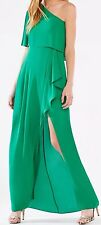 New with tag $298 BCBG MAX AZRIA Secha One-Shoulder Draped B536 dress Sz 4
