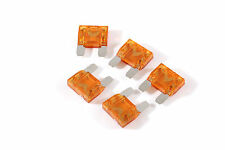KnuKonceptz Silver Nickel Plated MAXI Blade 40A Fuse 5 Pack
