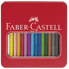 Faber Castell Buntstift Jumbo GRIP 16er Metalletui