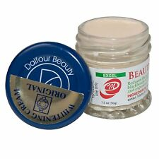 12 Jars Of Dalfour Beauty Gold Seal EXCEL Beauty Whitening Cream-Max Strength