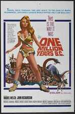 One Million Years Bc Poster 01 Metal Sign A4 12x8 Aluminium