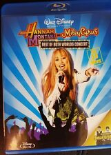 Hannah Montana Miley Cyrus Best of Both Worlds BLU-RAY DISC 3D music GIRLS GIFT