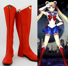 Sailor Moon usagi tsukino bunny Cosplay Kostüme rot Schuhe Shoes Stiefel Boots