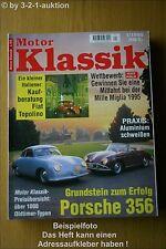 Motor Klassik 1/95 Porsche 356 Fiat Citroen Cadillac