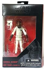 HASBRO STAR WARS BLACK SERIES 3.75 Inch ADMIRAL ACKBAR ACTION FIGURE