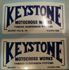 Keystone Works decal stickers IT YZ OW MX 125 250 360 400 465 500  AHRMA Vintage