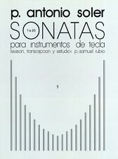 P. Antonio Soler Sonatas Learn to Play Classical Piano Music Book Vol One