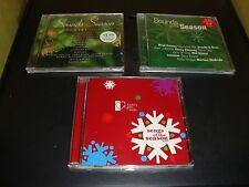 Christmas Music CD LOT New In Package QTY 3 / Silver Bells / Frosty The Snowman