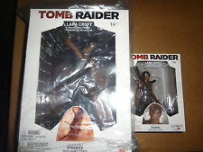 "Crystal Dynamics Tomb Raider Lara Croft PVC Statue Figure: 9"" inches + 5"" inches"