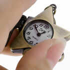 Cute Bronze Lucky Star Key Ring Quartz Watch Men Boy Lady Women Girl Unisex
