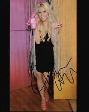 Julianne Hough country singer REAL hand SIGNED 8x10 photo w/ COA  #2 Autographed