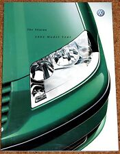 2001-02 VW SHARAN Sales Brochure - Carat Sport S SE 4MOTION  Excellent Condition