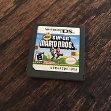 New Super Mario Bros Nintendo DS Game Cart Only L@@K