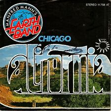 "7"" Manfred Mann's Earth Band – California / Chicago // Germany 1978"