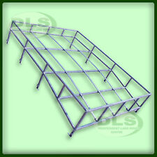LAND ROVER DEFENDER 90- Galvanised Expedition Style Contoured Roof Rack (DA1091)