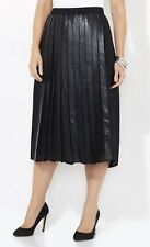 CATHERINES BLACK LABEL SLEEK STREET SKIRT - BLACK - PLUS SIZE 3X (26/28W)