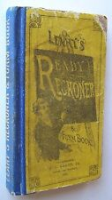 1877 LEARY'S READY RECKONER AND FORM BOOK for Trader Farmer Merchant - S