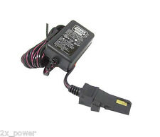Power Wheels New 00801-1778 Gray / Orange Battery Charger Probe Style 12 Volt