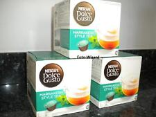 NESCAFE DOLCE GUSTO 48 MARRAKESH STYLE TEA PODS NEW FREE P&P 3 BOXES X 16