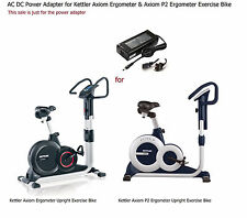AC DC Power Adapter for Kettler RE7 Ergometer Recumbent Exercise Cycle Bike