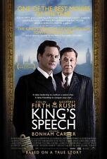 POSTER THE KING'S SPEECH COLIN FIRTH GEOFFREY RUSH #2
