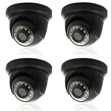 4X 1000TVL HD Outdoor/Indoor IR Surveillance CCTV Security Camera Night Vision