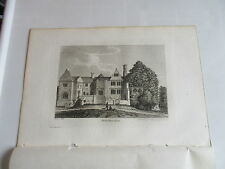 1787 BREDE PLACE SUSSEX 1785 ENGRAVING FRANCIS GROSE  PLUS TEXT