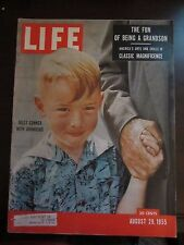 Life Magazine Billy Conner with Granddad August 1955