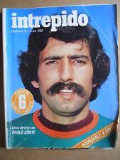 Intrepido n°9 1978 Paolo Conti Mazda 323 Lone Wolf Bologna Cagliari  [G390]