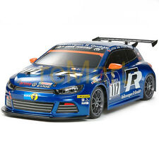 Tamiya Volkswagen Scirocco GT24-CNG Body Parts 190mm 1:10 RC Cars Touring #51473